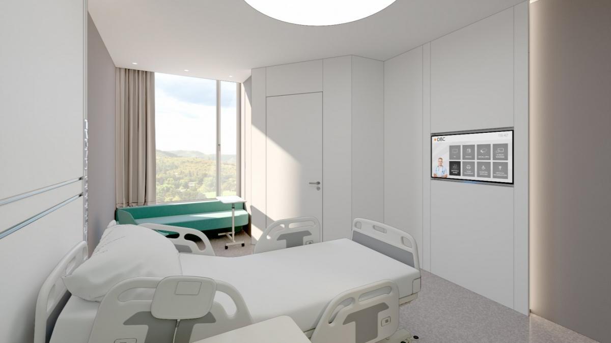 """Noha Karácsony azt nyilatkozta, a Szuperkórházból """"ebben a formában nem kér"""", a kormány megépíti Magyarország legmodernebb kórházát - látványtervek"""