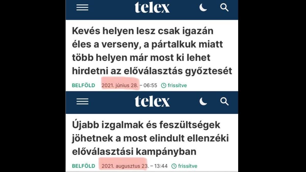 """Visszatértek a megérdemelt nyaralásból a feketeöves propagandisták a Telexhez, kapásból """"feszült"""" és """"izgalmas"""" lett a korábban lesajnált előválasztás"""