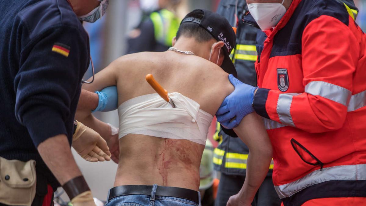 Hamburg: 45 késes támadás havonta