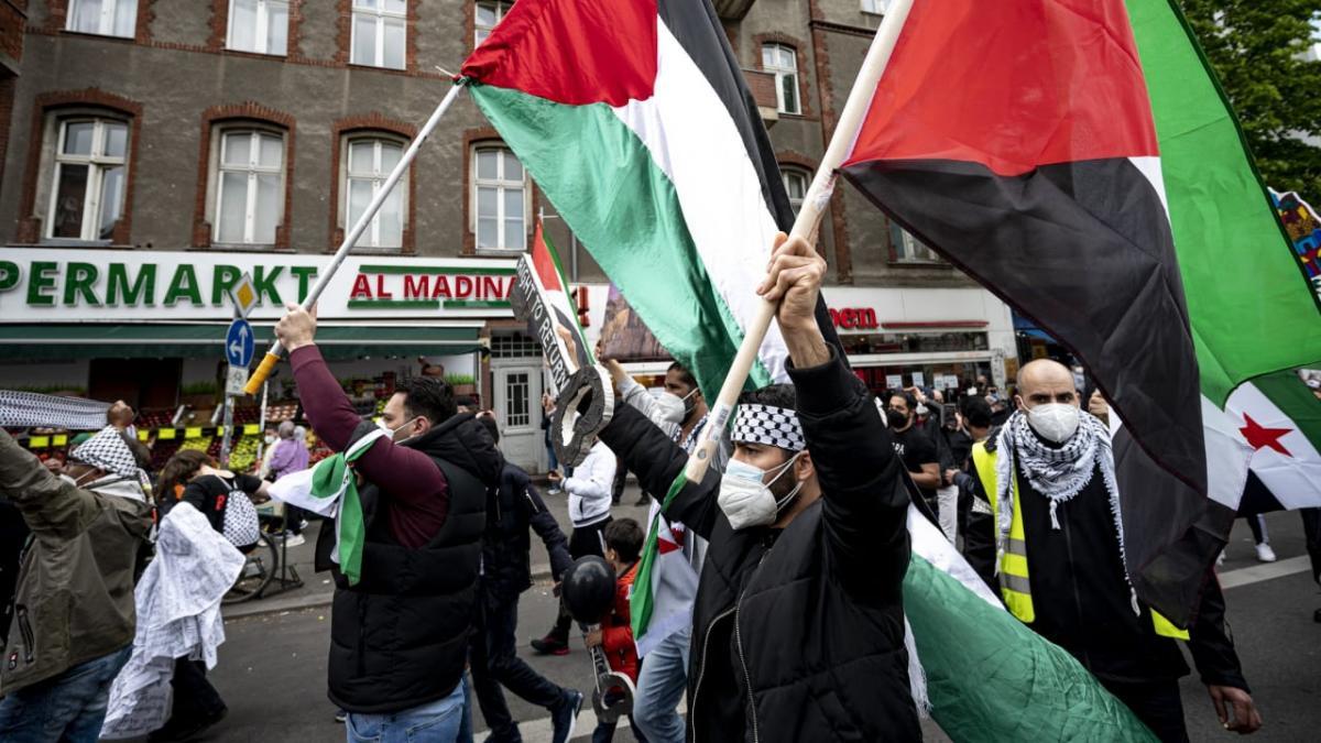 BILD: Izrael-gyűlölet a német utcákon!