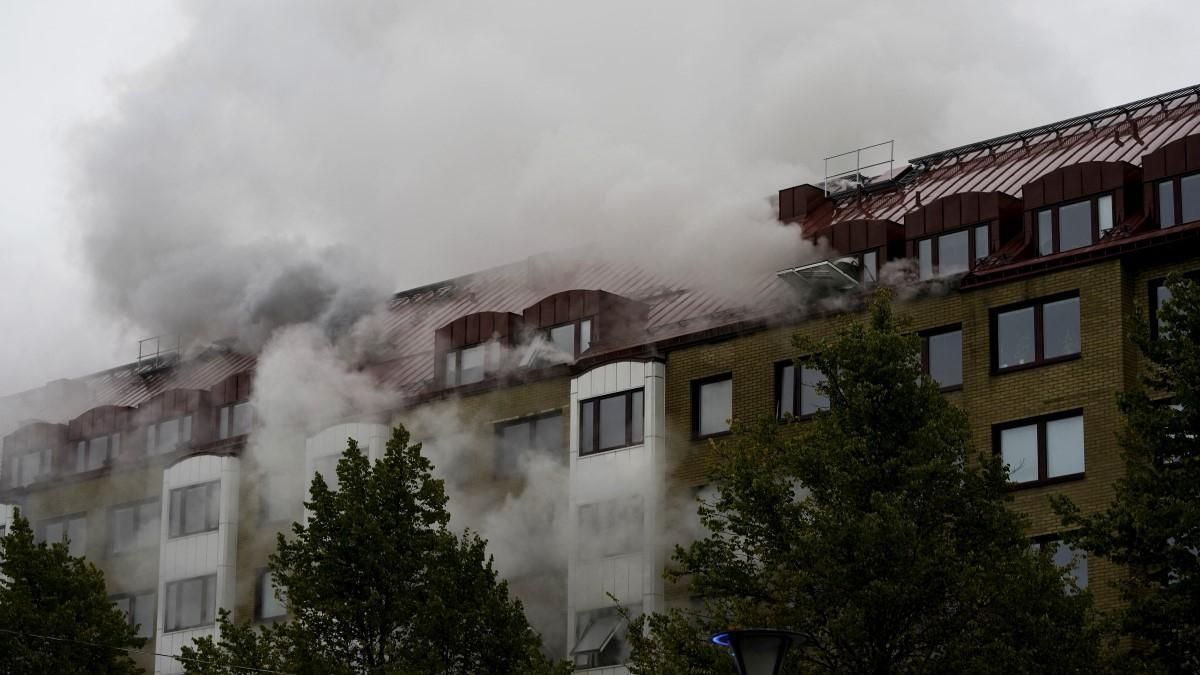 Robbanás Svédországban, 23 embert szállítottak kórházba, százakat evakuáltak