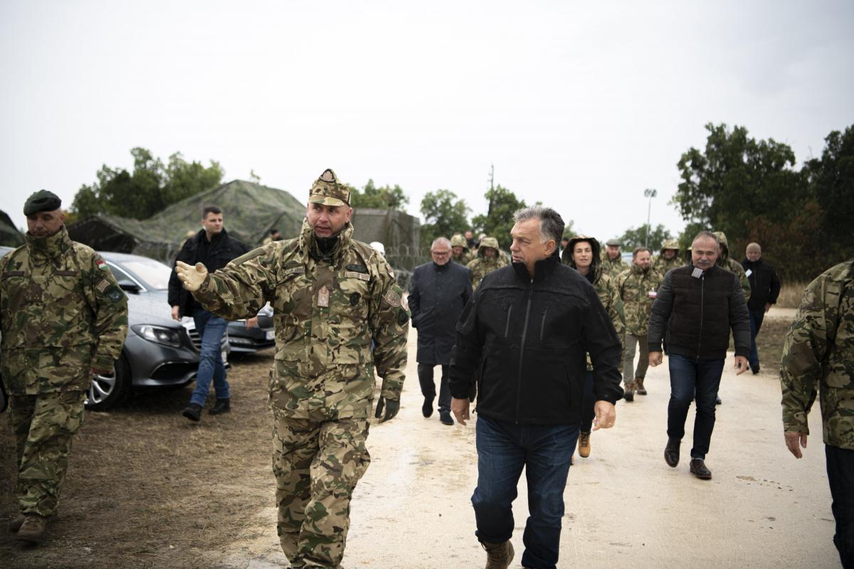 Hadgyakorlaton vett részt Orbán Viktor