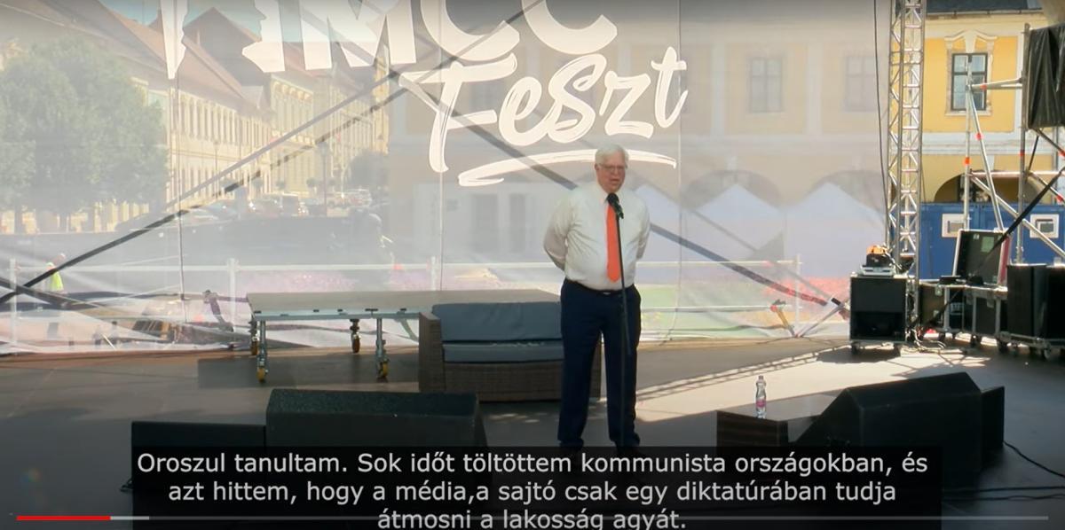 Dennis Prager az MCC Feszten az amerikai sajtóhelyzetről: azt hittem, a sajtó csak egy diktatúrában képes átmosni az emberek agyát
