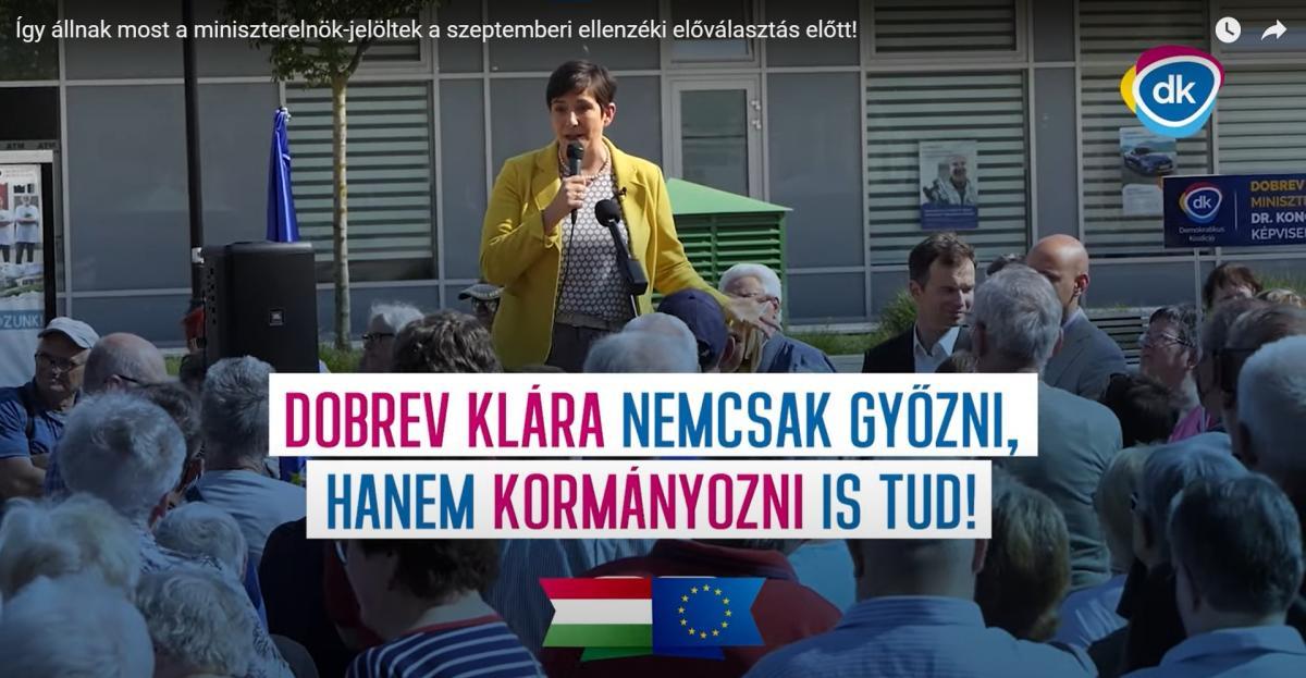 Gyurcsány szerint azért kell a nejére szavazni, mert látott már kormányzást közelről