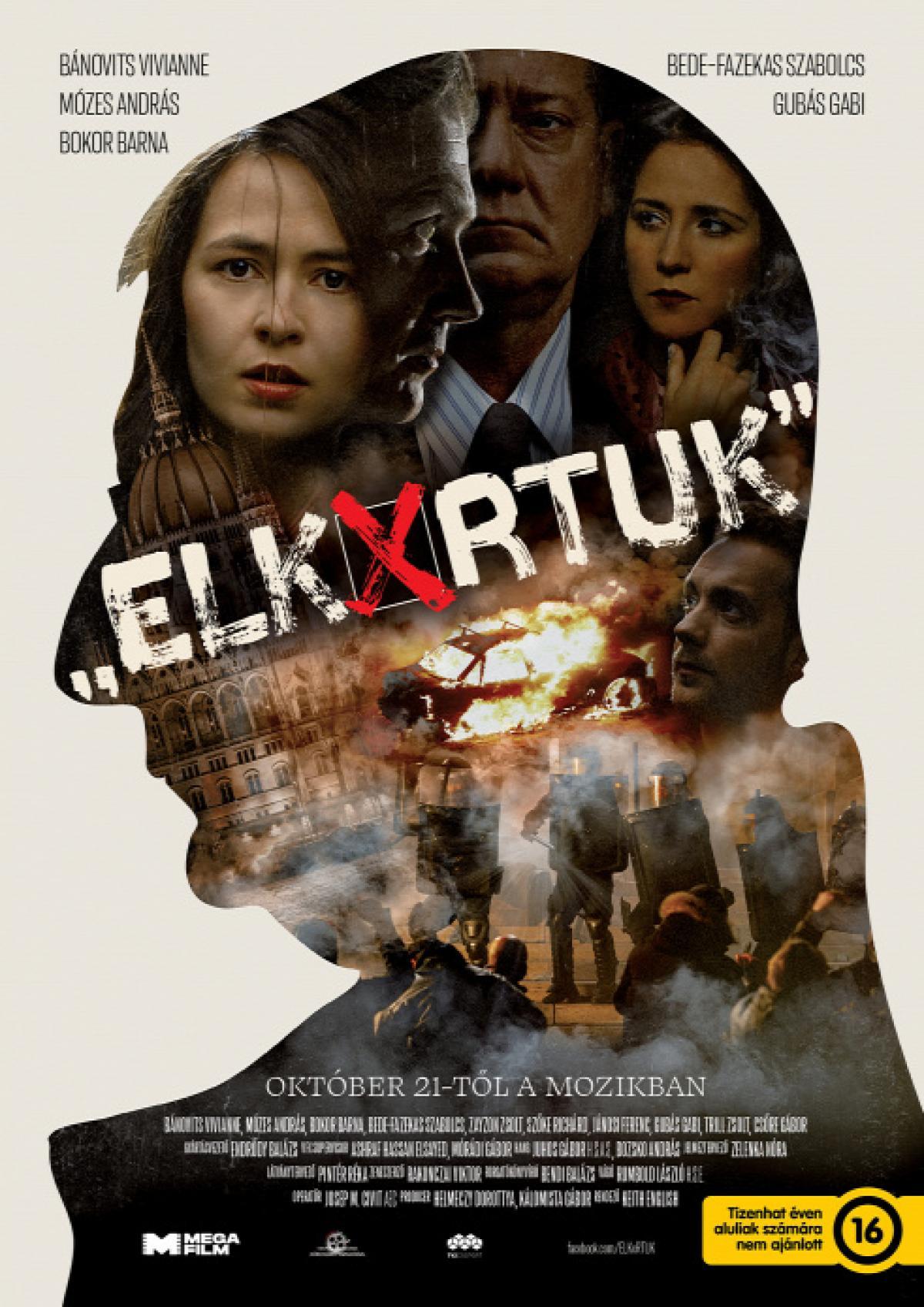 Elkészült az Elkúrtuk című mozifilm plakátja és trailere, a film bemutatójának ideje is megvan