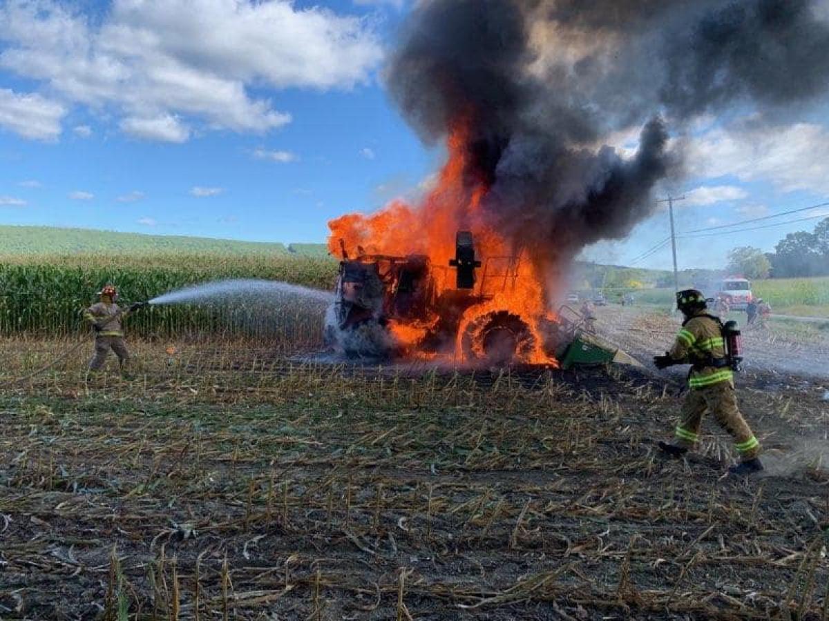 A nagy hőségben több a tűzeset a mezőgazdaságban