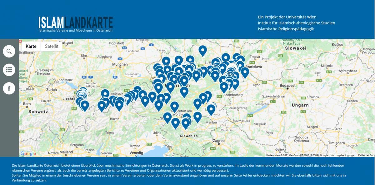 Ausztria: a fenyegetések miatt rendőri védelmet kapott az osztrák muszlim-szervezeteket térképen publikáló szakértő