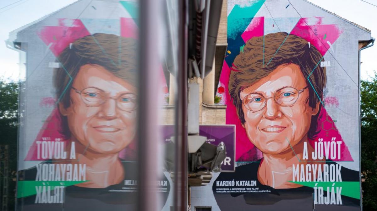 Karikó Katalin és társai kapták az egyik legrangosabb német tudományos díjat