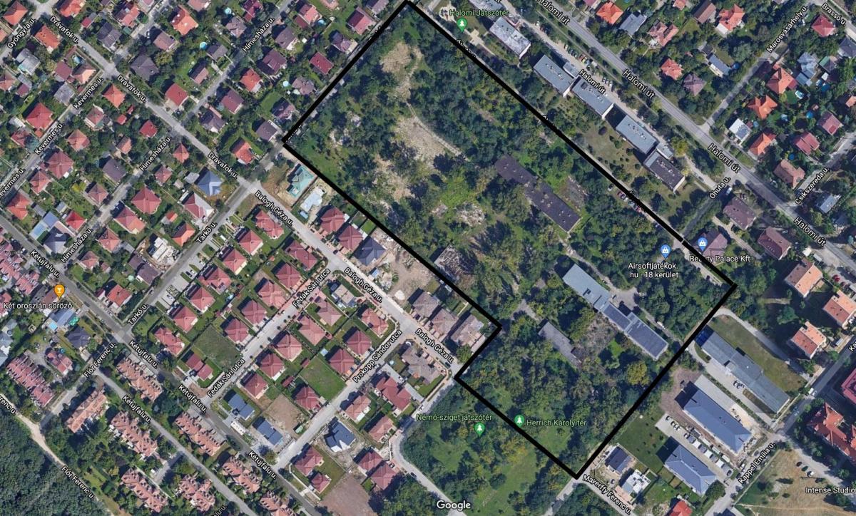 A kertváros közepére, egy fás-parkos területre álmodott lakópark-panama borzolja a kedélyeket Pestszentlőrincen