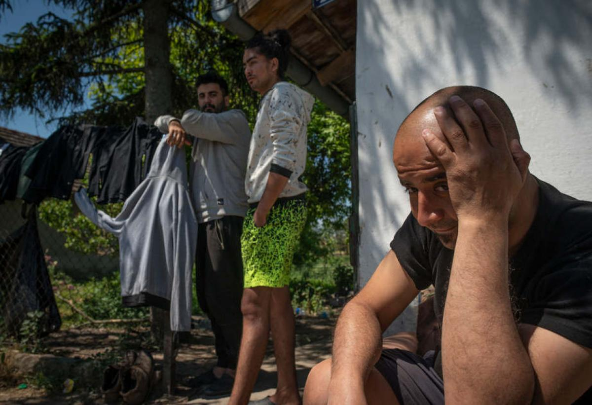 Hatszáz migráns él egy százlelkes magyar faluban nem messze Szegedtől délre