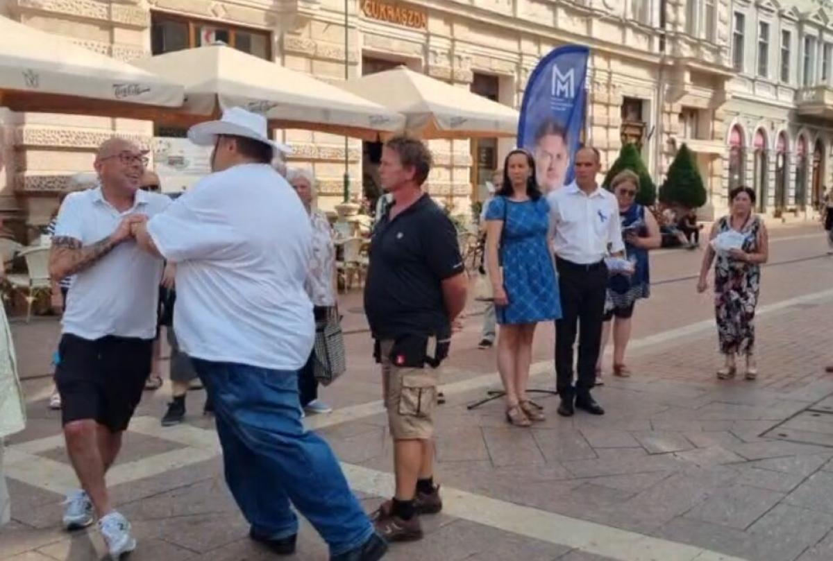 Az ellenzéki propagandamédiában nem hír, hogy Márki-Zay embere a szegedi utcafórumon egyetlen kérdés miatt löködött egy kérdezőt
