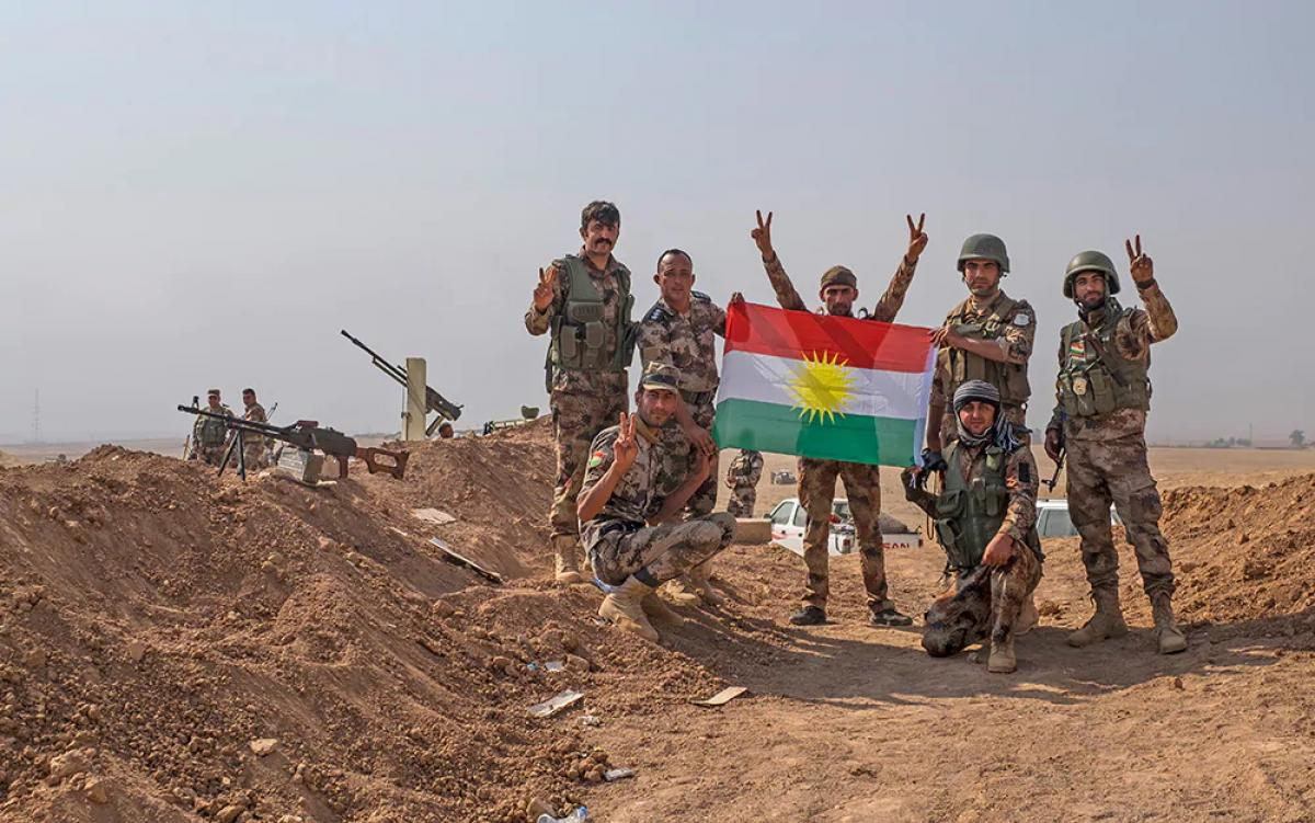 """Iraki kurdok figyelmeztetése: """"az ISIS most már [újból] erő"""""""
