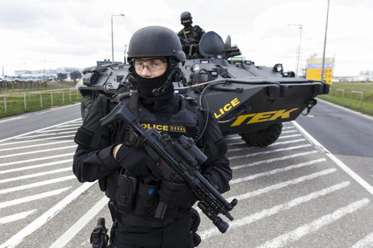 Budapesti terroristát fogott a TEK, robbanóanyag is volt nála