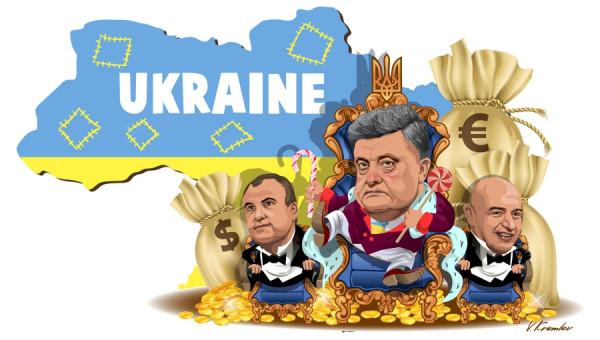 Porosenko volt ukrán elnök titokban offshore cégeket irányított, ezek mind az osztrák Raiffeisennél bankoltak