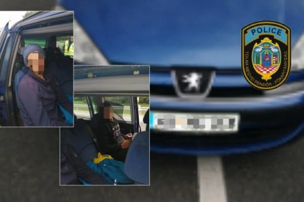 Újabb MigránsTaxit kapcsoltak le a rendőrök az M9-esen