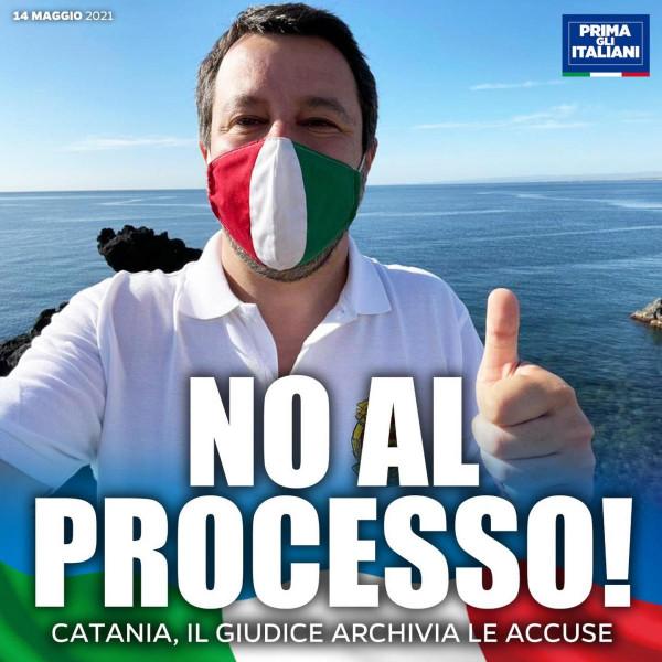 Az igazság utat tör magának: nem emelnek vádat a hazáját a migrációtól védő Salvini ellen, de vár még rá egy másik hasonló bírósági eljárás