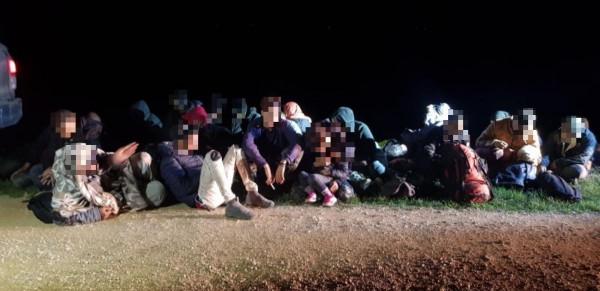 Brutális nyomás: 65 illegális migránst és két embercsempészt fogtak el