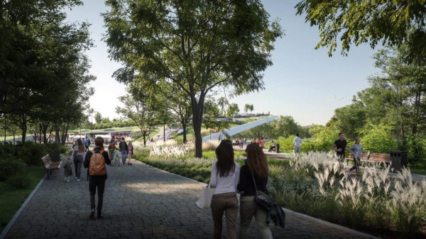 Ezt se Karácsony építi: hatalmas, multifunkciós közparkot épít a kormány Csepelen