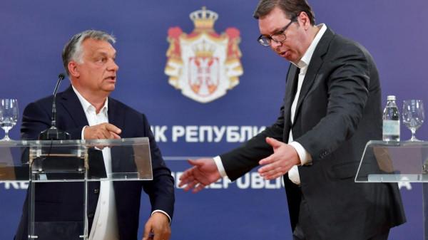 A szerb kommentárok zöme üdvözli Orbán belgrádi látogatását