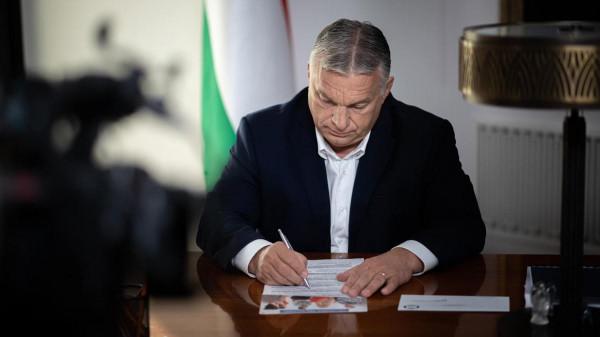 Kitöltötte a Nemzeti Konzultációt a miniszterelnök