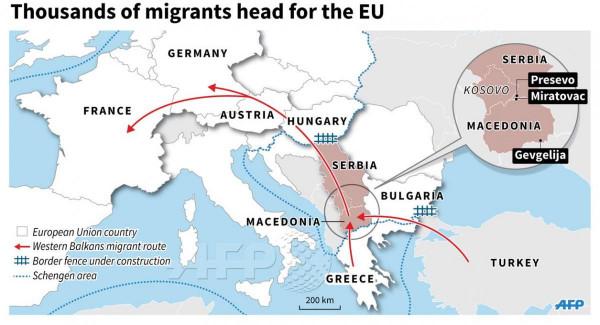 Idén eddig majd 40 ezer illegálist fogtak el a magyar hatóságok - tavaly ugyanekkor 10 ezer volt ez a szám