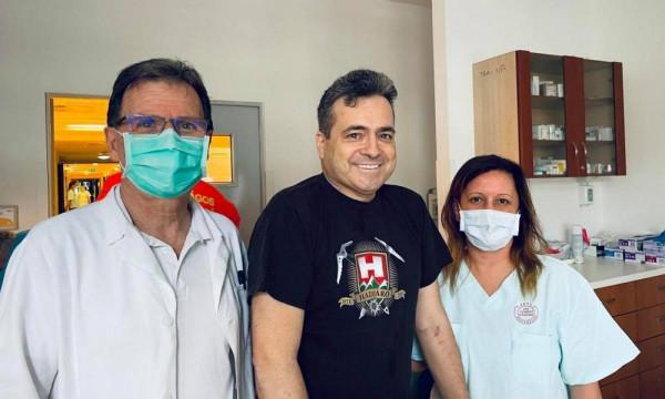 Kész csoda: 111 nappal a kórházba kerülését követően Bányai Gábor köszönetet mondott, hogy túlélte a koronavírus-fertőzést