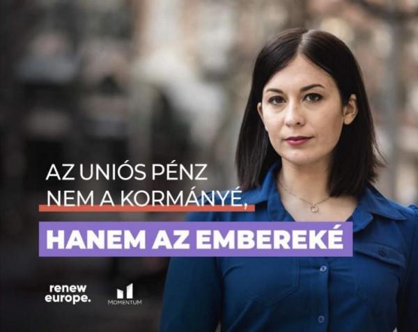 Cseh Katka elismerte, 2018-ban ő maga nyújtott be pályázatot az érintett cégen keresztül