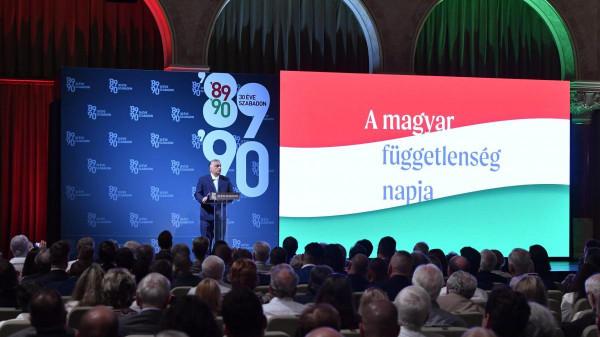 30 éve hagyta el az utolsó szovjet katona Magyarországot - Orbán Viktor miniszterelnök ünnepi beszéde