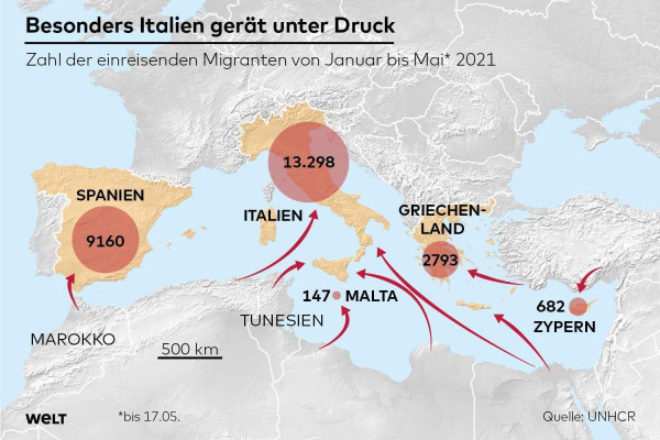 Migránskrízis 2.0 - a WELT szerint az adatok alapján újabb migrációs hullám indult Európa felé