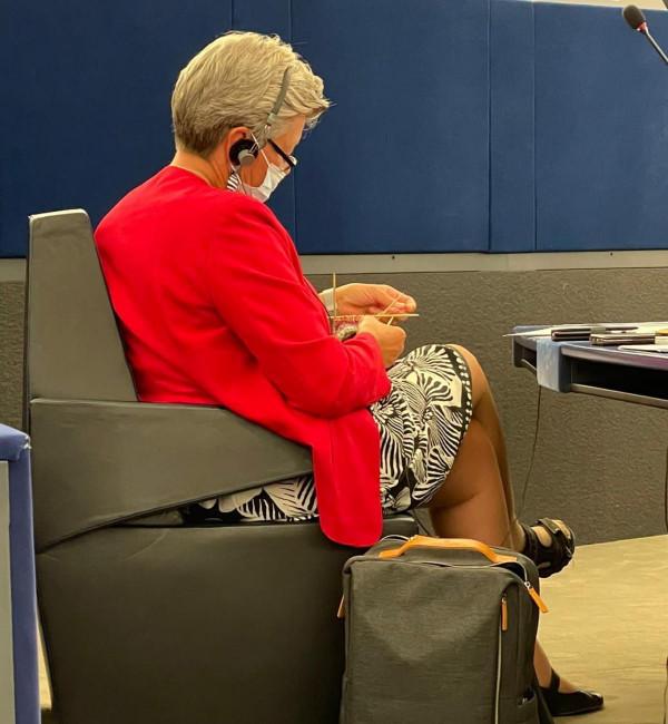 A francia képviselő az ellenőrizetlen migráció áldozatainak neveit sorolta, erre az EU egyik biztosa kötögetni kezdett az ülésteremben