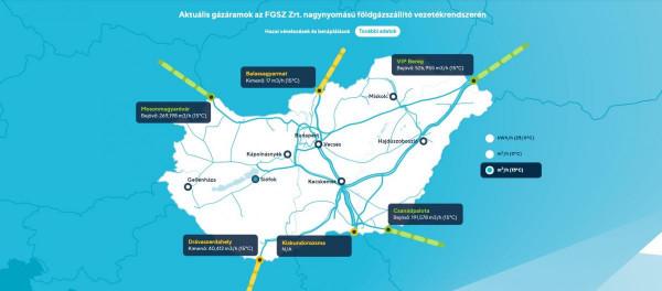 Újabb szállítási útvonal garantálja Magyarország gázfüggetlenségét