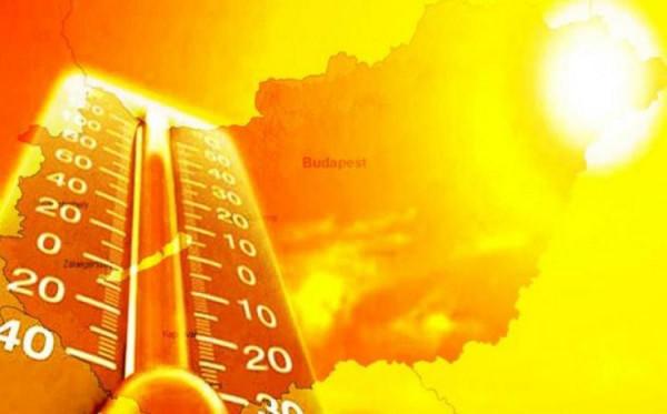 Meghosszabbították a harmadfokú hőségriadót