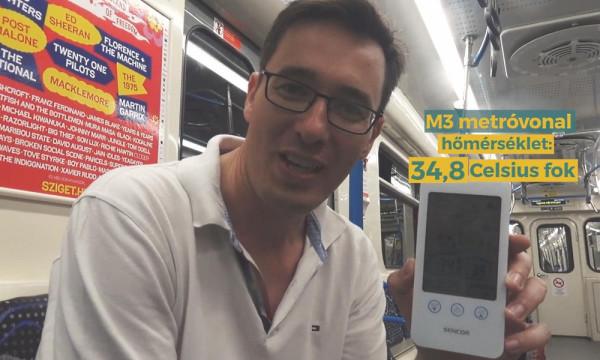 Mióta Karácsony már nem metrózik, hanem klímás szolgálati autó hurcolja mindenhová, nem fontos neki a hőség a metróban