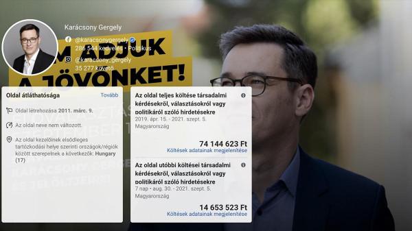 A főpolgármester köszöni szépen, nem szorul népszerűsítésre, hazudta Karácsony, de közben elhirdette egy családi ház árát a Facebookon
