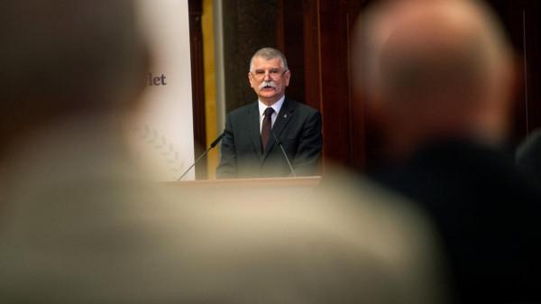 Kövér László: Az Európai Uniót azok teszik tönkre, akik Magyarországtól akarják most megvédeni