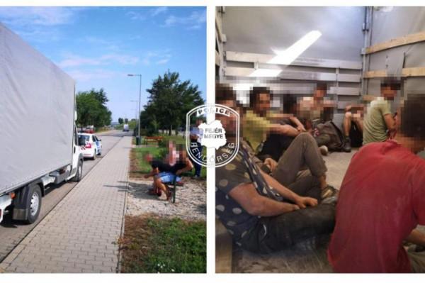 Besenyő térségében, újabb embercsempészt kaptak el