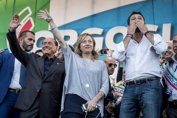 Áttörés: 52% szemben a 34 százalékkal: a Salvini-vezette olasz jobbközép látványosan erősödik