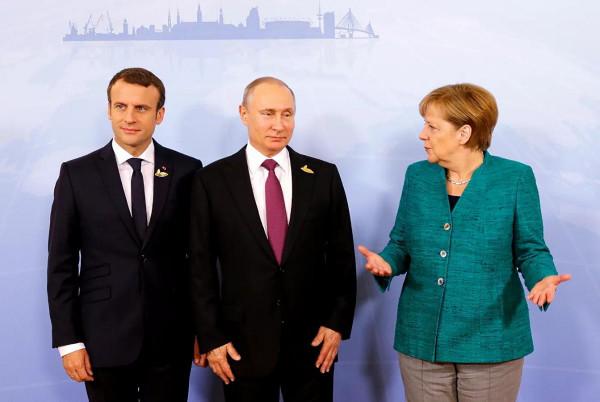 Német-francia reálpolitika: csúcstalálkozót akarnak Putyinnal