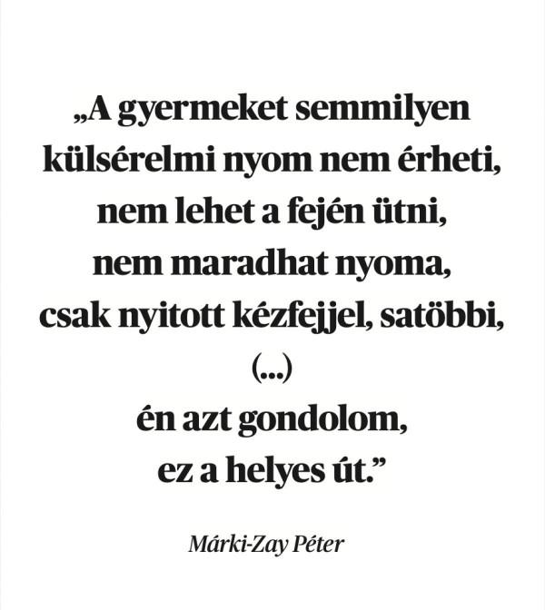 """Márki-Zay továbbra is védi gyermeknevelési """"elveit"""": ütni csak nyitott kézfejjel, hogy ne maradjon nyoma"""