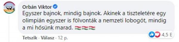 Orbán: Hosszú Katinka mindig a mi hősünk marad