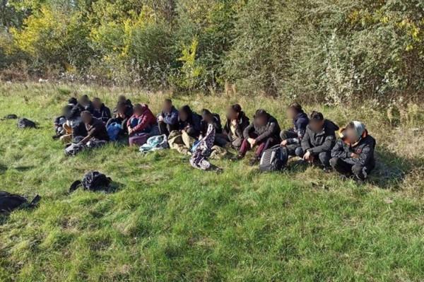 17 illegális migránst tartóztattak fel Csikériánál
