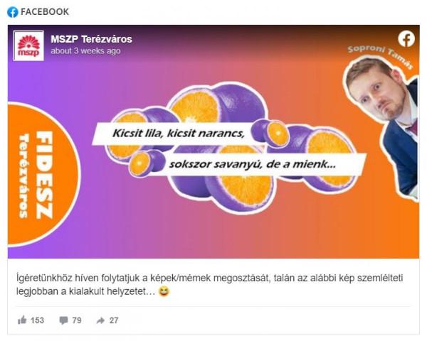 Soproni Tamás polgármesternek nekiesett a terézvárosi MSZP
